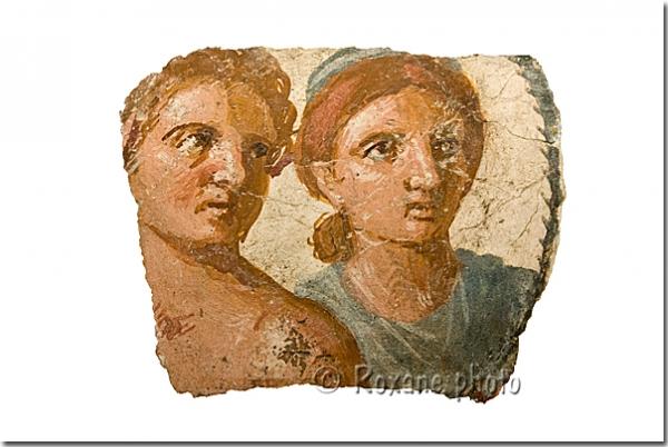 Couple - Pompei - British museum - Londres - London