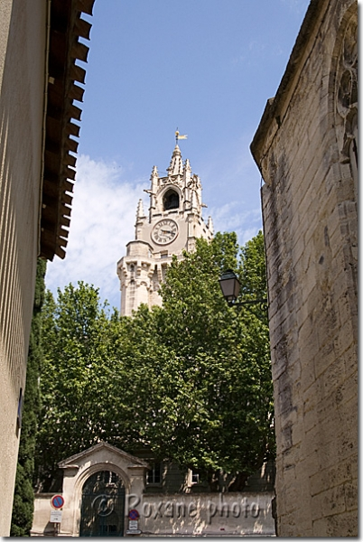 Tour du jacquemart - Jacquemart tower - Avignon - France