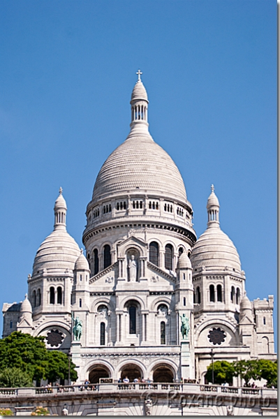Basilique du Sacré-Cœur - Basilica of the Sacred Heart - Montmartre - Paris